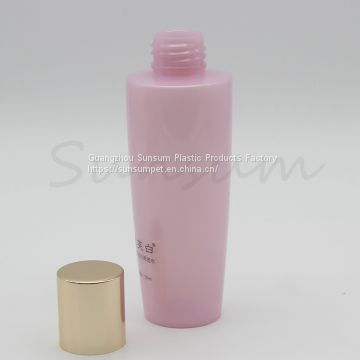 Toner bottle with gold cap