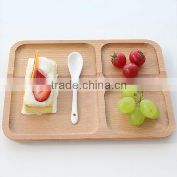 2016 new!!! Hexagon design serving trays wooden storage trays wholesale cheap serving trays