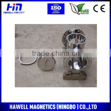 Magnetic Liquid Trap for Pipe Line