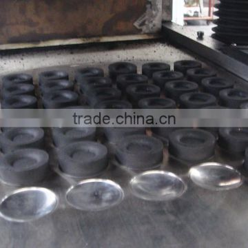 Carbon powder black briquette with oval shape/pillow shape hydraulic tablet press machine