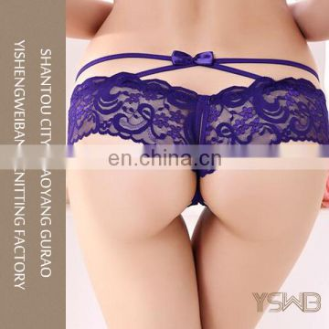 Unique design cozy purple women sexy soft models asian panty