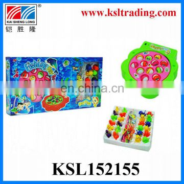 kdis plastic toy fishing play set for children