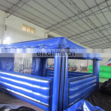 Corner inflatable cube tent inflatable corner tent with windows for sale