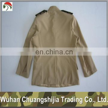 official khaki military ceremonial uniform