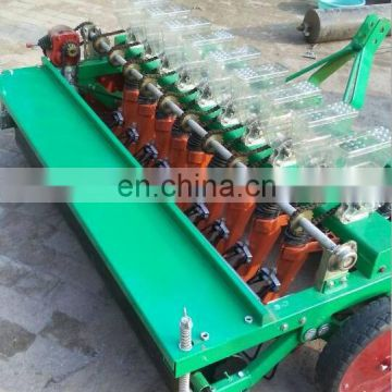 Hand operated 2/3/4 rows vegetable seed transplanter onion seed planter