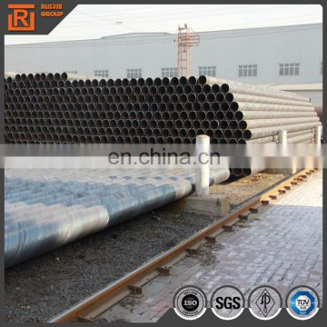 astm a252 carbon spiral welding iron black welding pipe