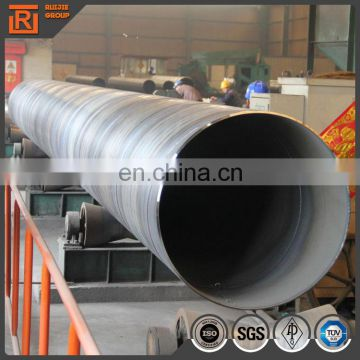 Large diameter spiral tube q235b api 5l gr b spiral steel pipe 800mm diameter steel pipe price