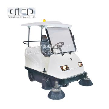 OR-E800W  vacuum sidewalk sweeper /  electric sweeping machine