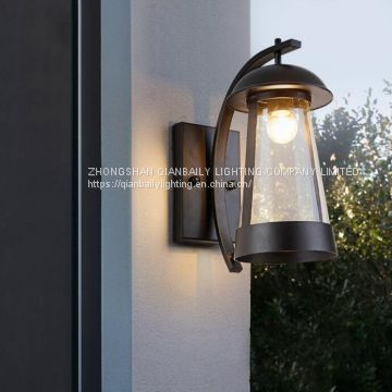 Outdoor water proof wall lamp USA Style glass wall lamp used outdoor on the wall 1207