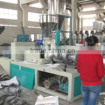 Plastic pvc pipe machine with price