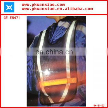 factory custom made light mesh led tubes flashing led running vest