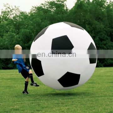 big inflatable soccer ball