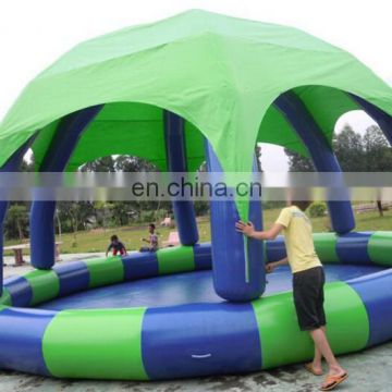 Inflatable zorb water ball pool/human hamster ball in pool/inflatable water pool