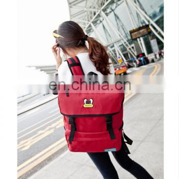 Hot Sal Ladies Red And Black Travel Bags
