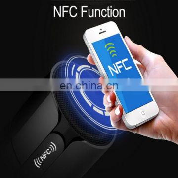 Drop Shipping NFC Bluetooth Stereo Speaker,WirelessSpeaker,Home Audio,Outdoor Speaker with LED Touch Screen Hands-free Calls FM