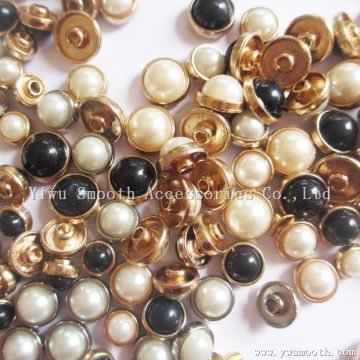Semicircle Alloy Solid Pearl Nails Shoes Apparel Rivets Decorative Accessories