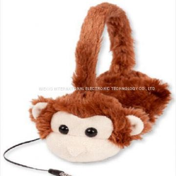 Animals Tangle-Free, Volume Limiting (85 dB) Over Ear Headphones for Kids