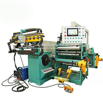 hermetically sealed transformer lv foil winding machine