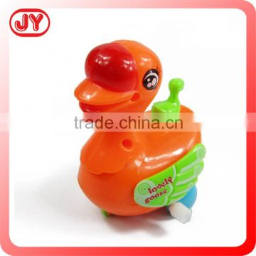 Lovely wind-up animal plastic goose with EN71