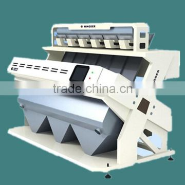Indian Rice Color Sorting machine with CCD camera, high-end sorting technology