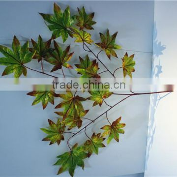 Home and outdoor garden table wedding christmas decoration 60cm or 2ft Height artificial colorfully maple leaf E06 0612