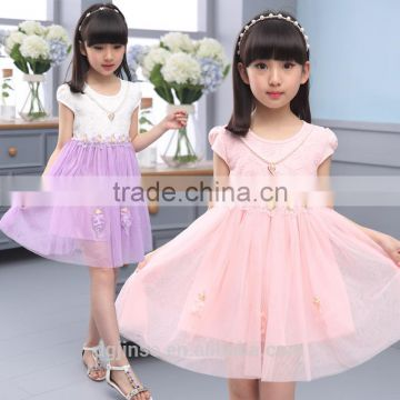 The new model summer children frocks designs girl party dress princess beautiful birthday dresses for girl of 7 years old