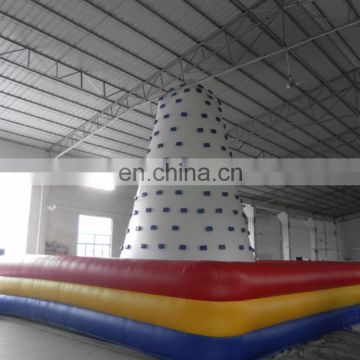 Sport game climbing inflatable mountain climbing iceberg