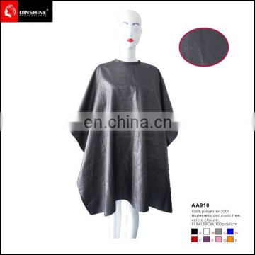 2016 wholesale barber supplies hair cutting salon cape with pattern