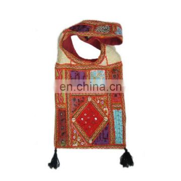 patch work ethnic embroidery Bag