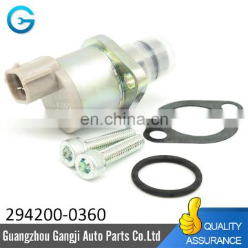 Genuine Fuel Pump Suction Control Valve A6860-VM09A 294200-0360 for Nissans Navaras Mitsubishis L200