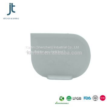 FDA LFGB silicone Dough scraper with standing type