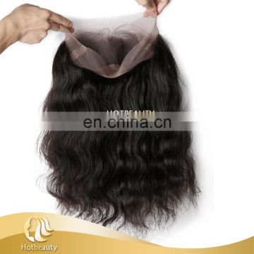 Top Quality 360 Lace Frontal With Virgin Hair, 10''-20'' are available Human Hair Lace Frontal