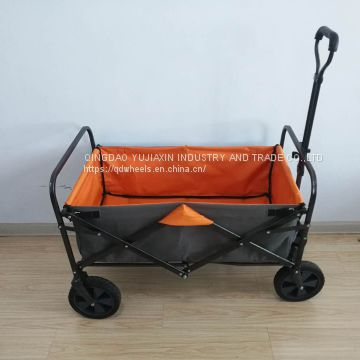 4 Wheels Folding Wagon Outdoor Beach Wagon