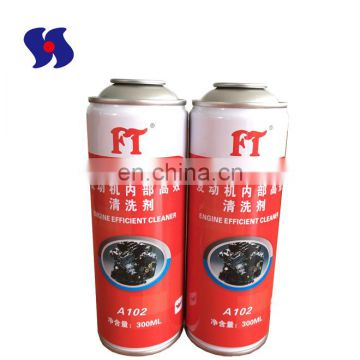 Diameter 57mm Empty Aerosol Tin Cans with Printing for Automatic Cleaning Product