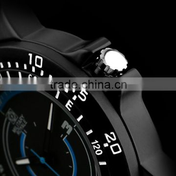 Mens Black Military Army style Watches MR080 Men Fashion Watch
