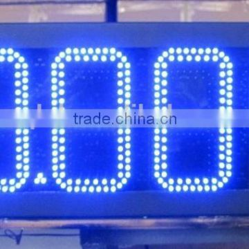 12inch led waterproof gas station display, led gas price sign