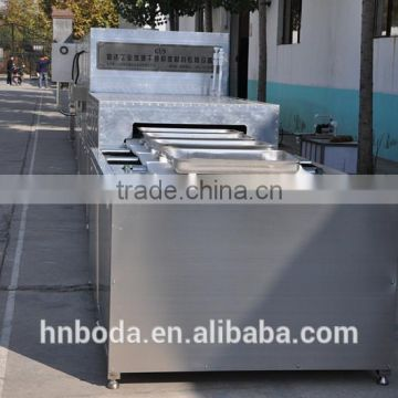 Tunnel type microwave dryer for diamond powder/microwave drying machine