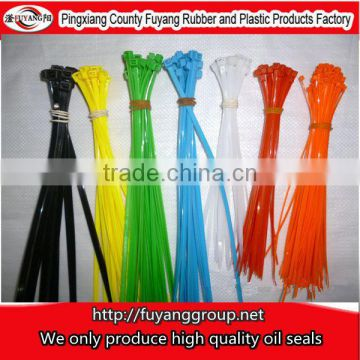 ROHS approved plastic & thin nylon cable ties