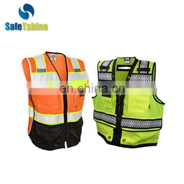 High visibility safety vest good quanlity vest military safety reflective vest