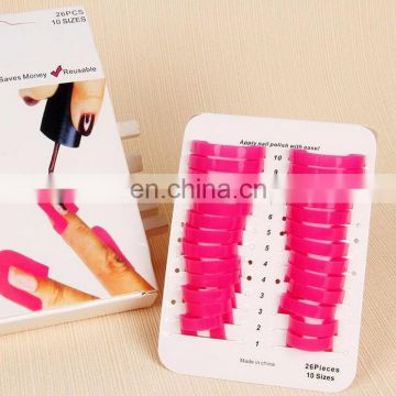 Most Creative 26pcs/set Manicure tool Reusable and Durable Nail oil model clamp