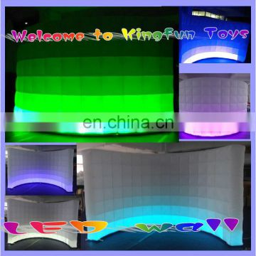 3.5M LED Inflatable projection wall/inflatable air wall