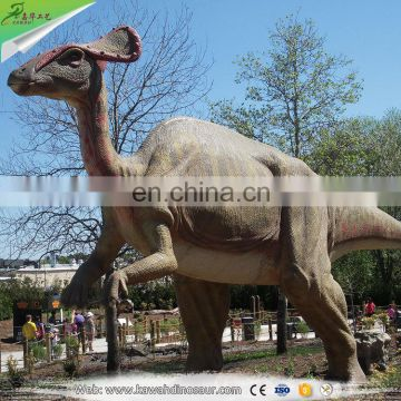 KAWAH Factory Outdoor playground Realistic lifesize Animatronic Dinosaur For Sale