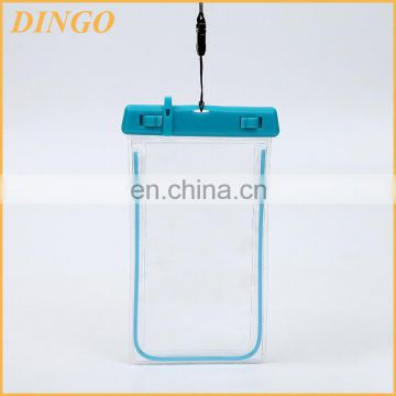 Eco Material Phone Packaging Clear Plastic EVA Bag With Zipper