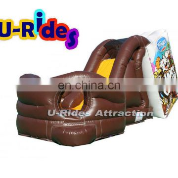 Jumping bouncer Milk Inflatable slide for events