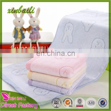 Super Soft Cartoon Design100% Cotton Velvet Jacquard Towel