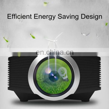Wholesale Newest LED Projector,Drop Shipping Home Theater,1200 lumens,800*480 Resolution,Contrast Ratio	1000:1