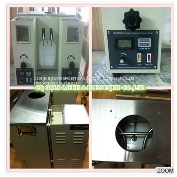 GD-6536A Atmosphere Temperature Oil Boiling Range Tester ASTM D86