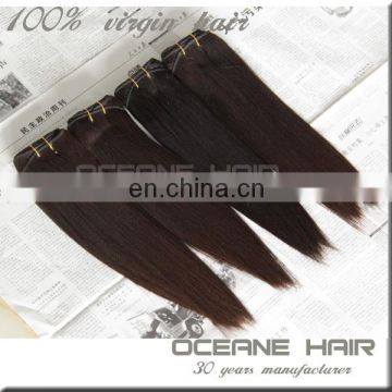 New style tangle and shedding free natural hair pure full cuticle hair weaving extensions grade human hair