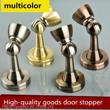 Zinc-alloy door magnetic-wall ground suction door touching the door gear processor OEM manufacturers made stainless steel door suction