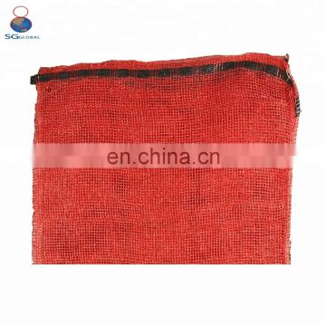 Heavy duty 50kg vinyl potato onion mesh bag